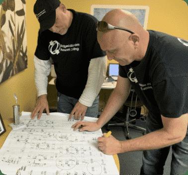 blueprints philadelphia contruction cabling
