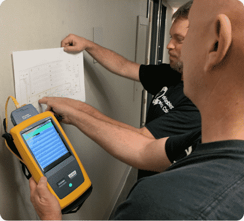fluke cat6 tester cabling network willow grove