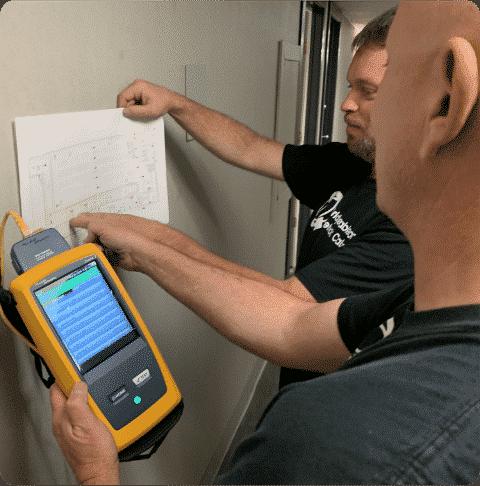fluke tester planning network cabling royersford