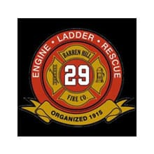 barren hill firehouse engine 29 logo