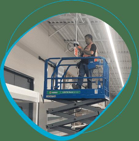supermarket lift philadelphia network cabling