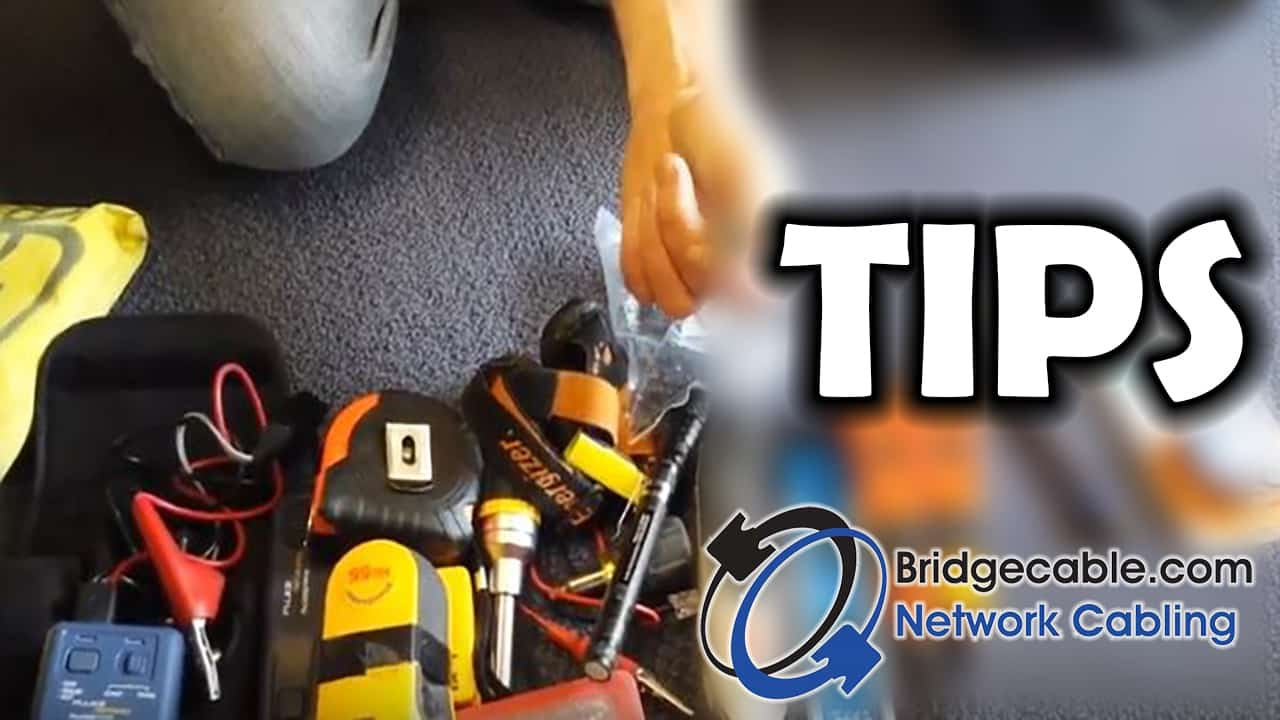 TIPS Whats in a Professional Network Cabling Tech Kit