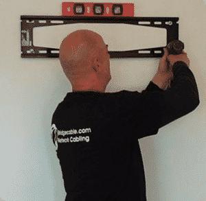 philadelphia network cabling tv mounting
