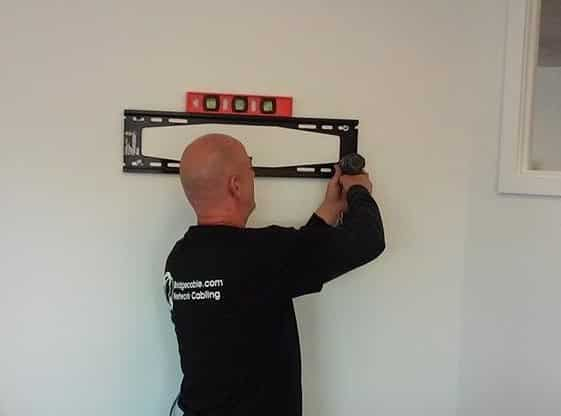 Our TV Mounting team always ensures that your TV will be level!