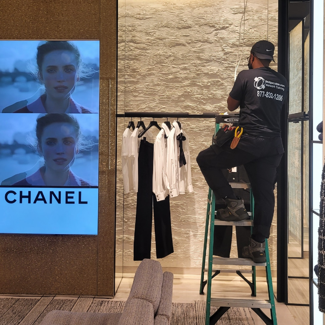 chanel king of prussia mall network cabling