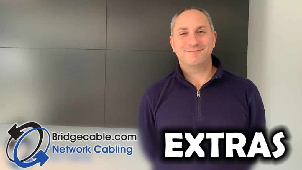 John, of Datapath North America, gives his video testimonial about his Bridge Cable experience for his network cabling project.